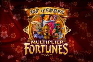 108 Heroes Multiplier Fortunes Automatenspiel kostenlos spielen
