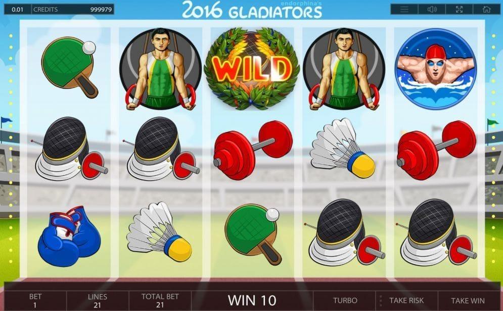 2016 Gladiators online Slotmaschine