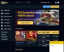 25€ gratis Bonus und 200% bis zu 1000€