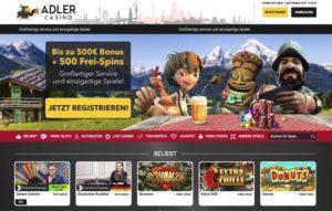 Adler Casino Erfahrungen – großartiger Service und einzigartige Spiele!
