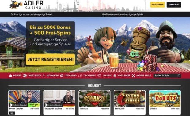 Adler Casino Erfahrungen mit Echtgeld