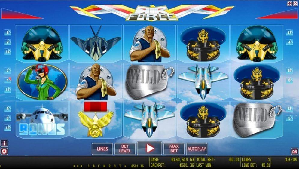 Air Force online Videoslot