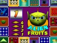 Alien Fruits Spielautomat