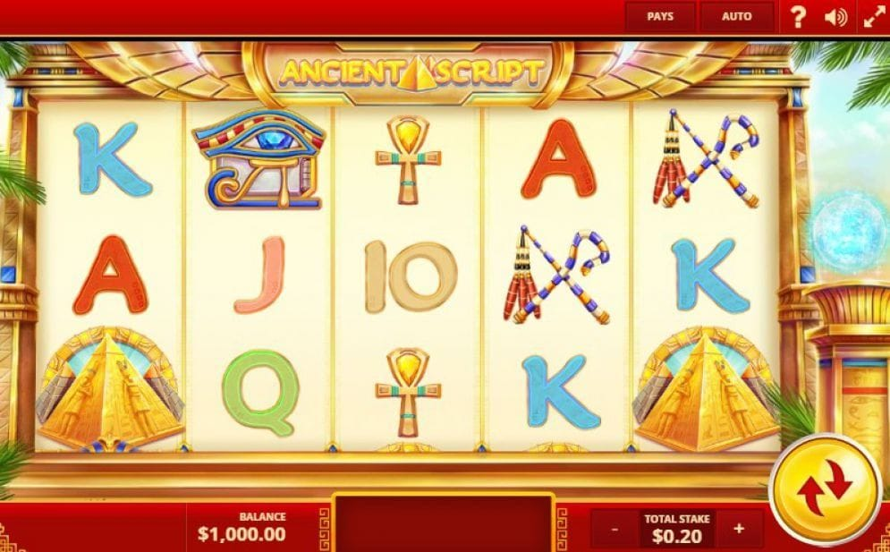 Ancient Script Video Slot