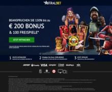 150% bis zu 200€  + 150 Freispiele