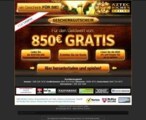 Aztec Riches Casino im Test