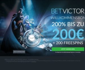 Bet Victor Casino im Test