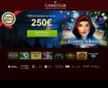 125% Bonus bis zu 250€ + 50 Freispiele