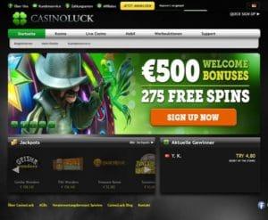 Casino Luck im Test