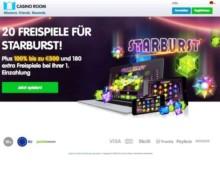 25 Freispiele + Zahle €10 ein, spiele mit €60