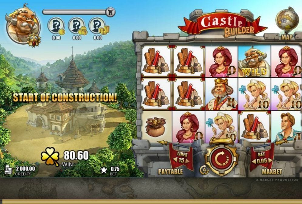 Castle Builder online Video Slot