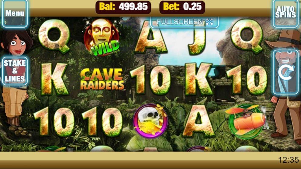 Cave Raiders Geldspielautomat