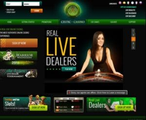Celtic Casino im Test
