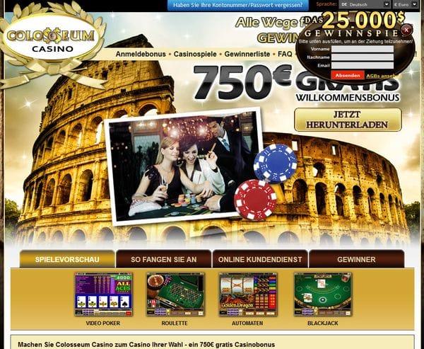 Colosseum Casino im Test