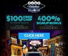 $100 Free Chip No Deposit mit Code: COOLEST100
