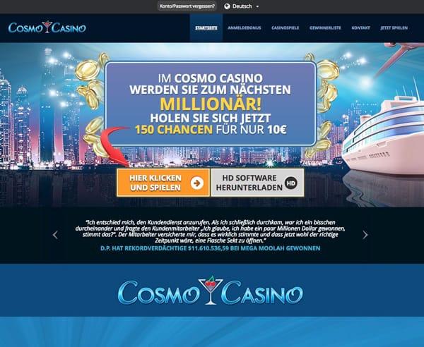 Cosmo Casino unter der Lupe