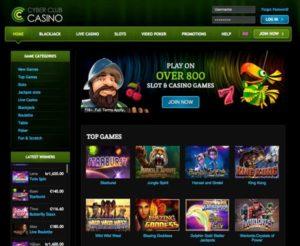 Cyber Club Casino Bericht