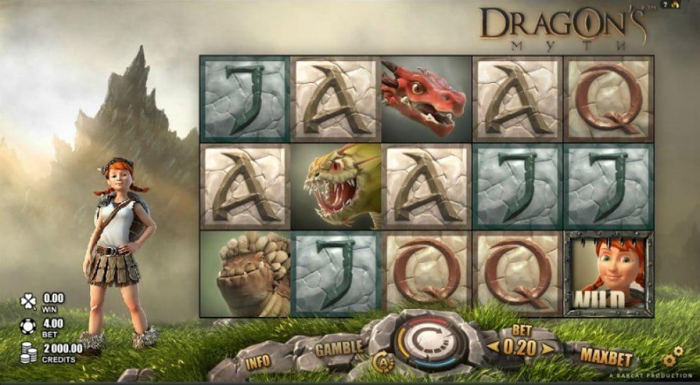 Dragon's Myth Automatenspiel