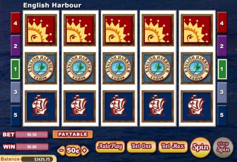 English Harbour online Slotmaschine