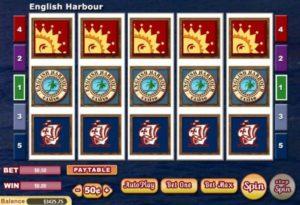 English Harbour Videoslot online spielen