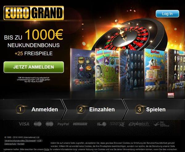 EuroGrand Casino im Test