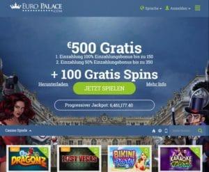 Euro Palace Casino im Test
