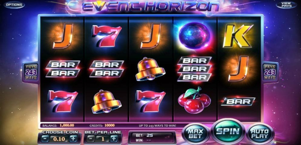 Event Horizon Casinospiel