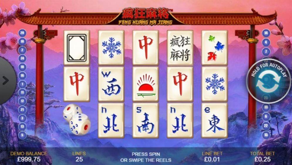 Feng Kuang Ma Jiang online Casinospiel
