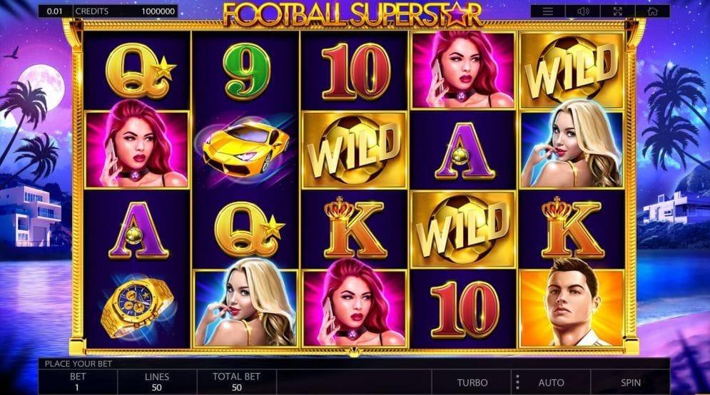 Football Superstar online Spielautomat