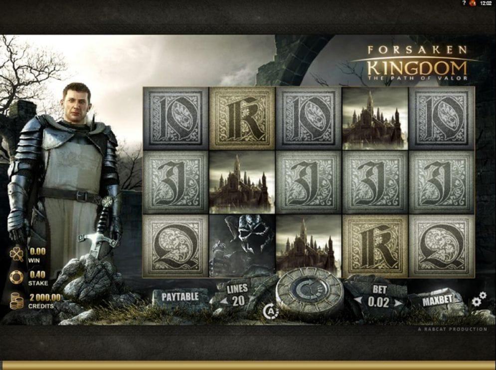 Forsaken Kingdom Casino Spiel