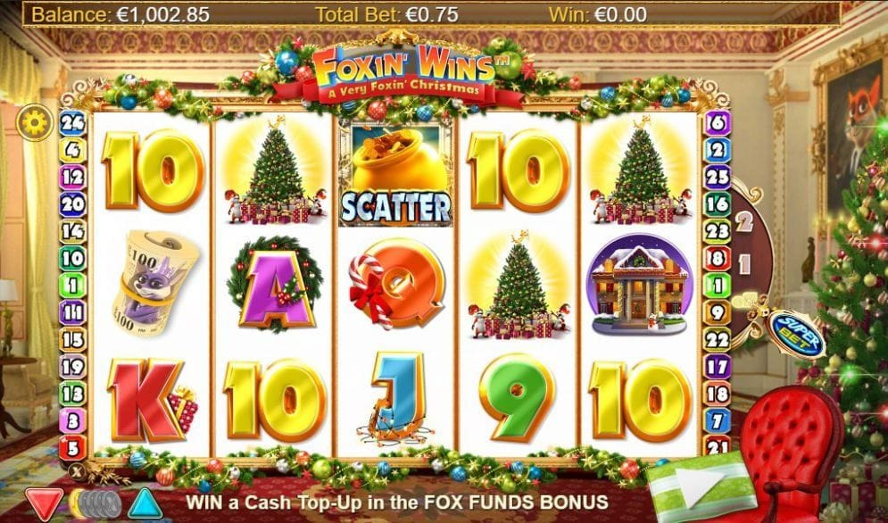 Foxin' Wins – A Very Foxin' Christmas online Video Slot