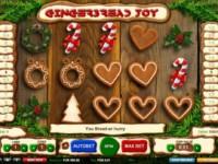 Gingerbread Joy Spielautomat