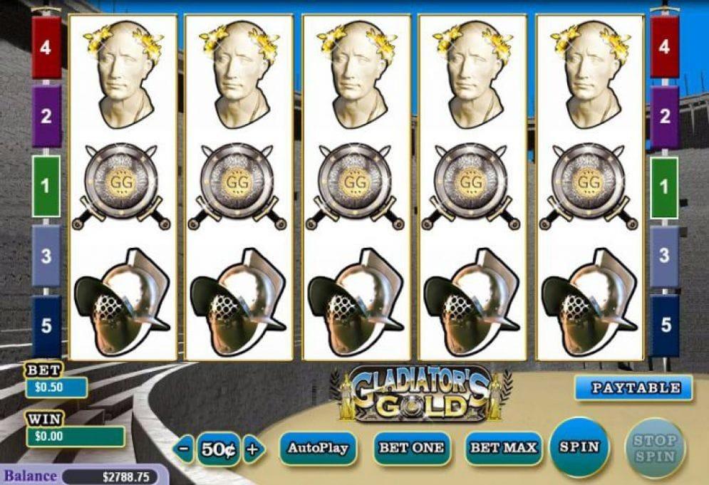 Gladiators Gold Geldspielautomat