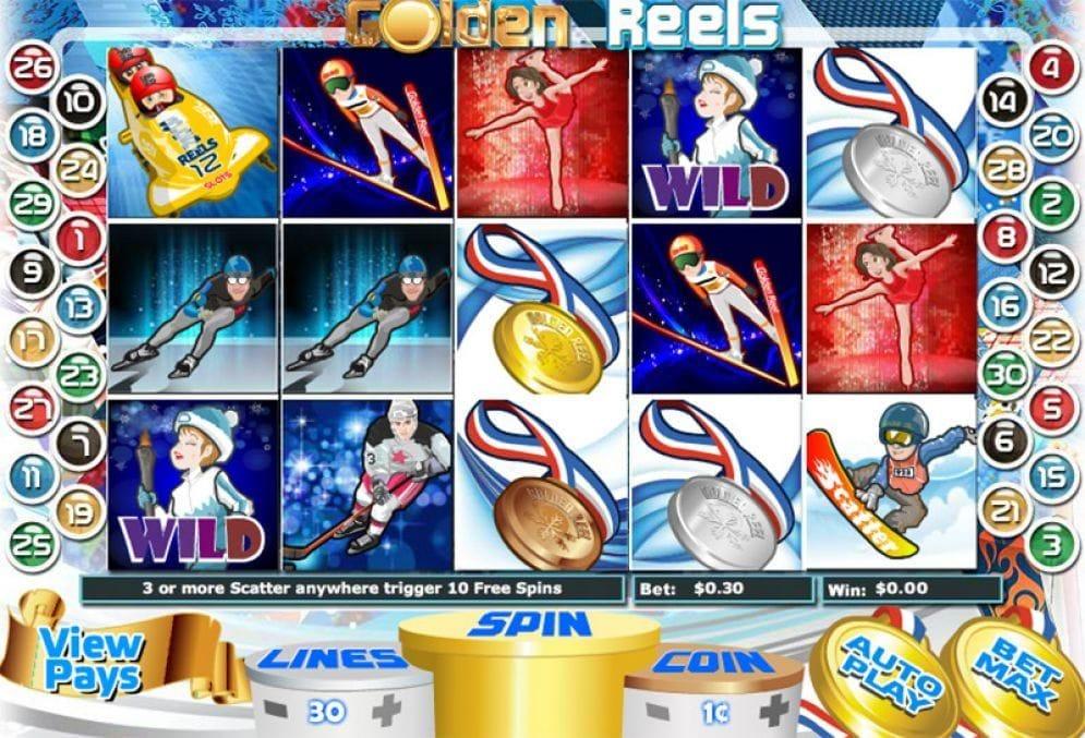 Golden Reels Spielautomat