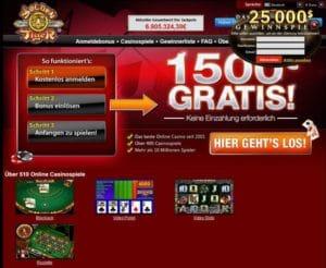 Golden Tiger Casino im Test
