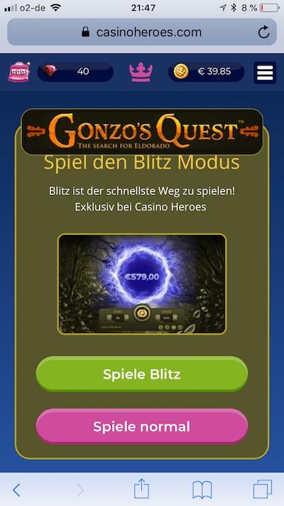 Gonzos Quest Blitz