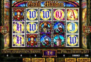 Grail Maiden Casinospiel ohne Anmeldung