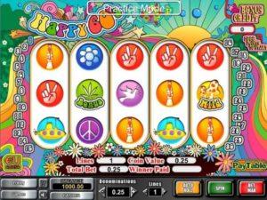 Happy 60's Slotmaschine kostenlos