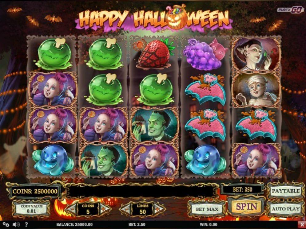 Happy Halloween Automatenspiel