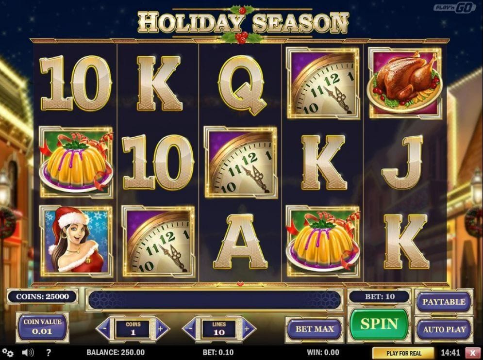 Holiday Season online Spielautomat