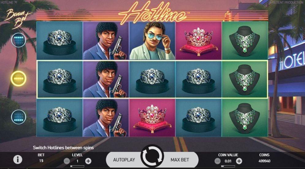 Hotline Slotmaschine