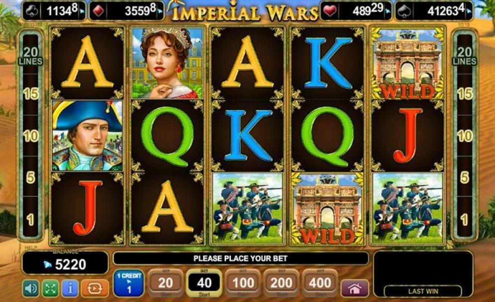 Imperial Wars online Spielautomat