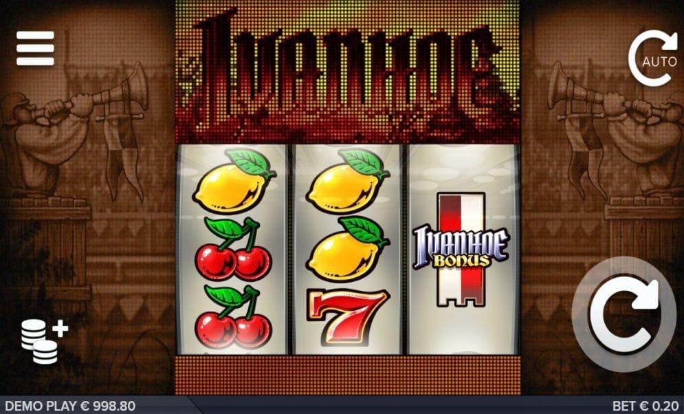 Ivanhoe online Casino Spiel