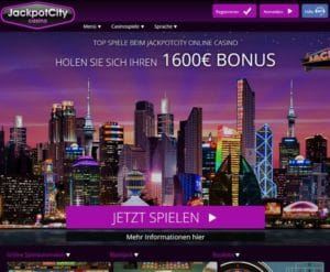 Jackpot City Casino im Test