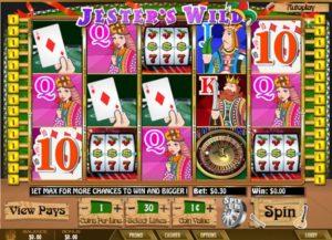 Jester's Wild Spielautomat kostenlos