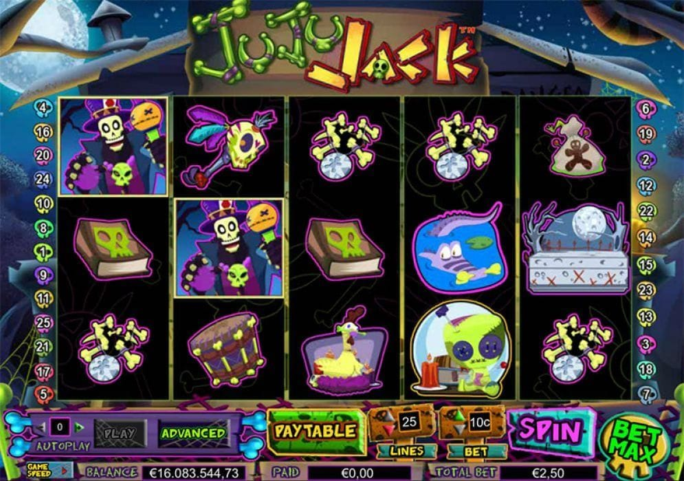 Juju Jack online Spielautomat