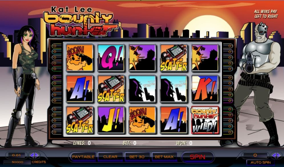 Kat Lee: Bounty Hunter Casino Spiel