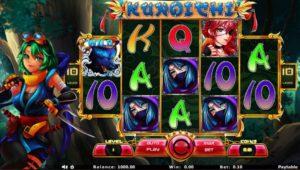 Kunoichi Casinospiel ohne Anmeldung