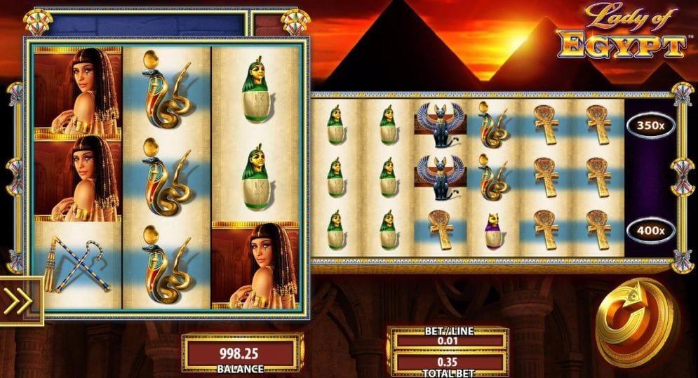 Lady of Egypt online Spielautomat