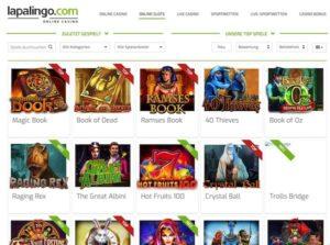 Lapalingo: 10€ ohne Einzahlung + PayPal Zahlungen